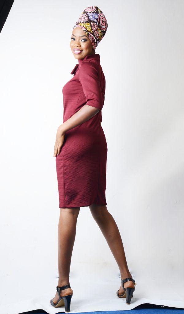 Renikeji knit dress