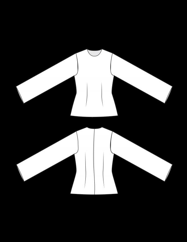 simple bodice block