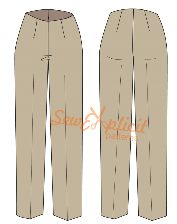 Trouser block flat
