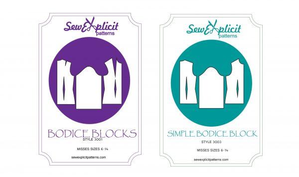 Misses woven bodice block bundle