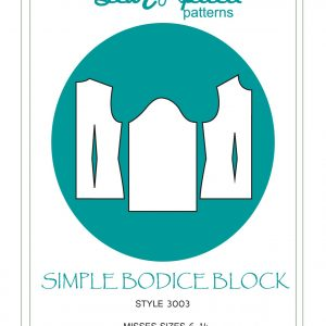 simple bodice block cover