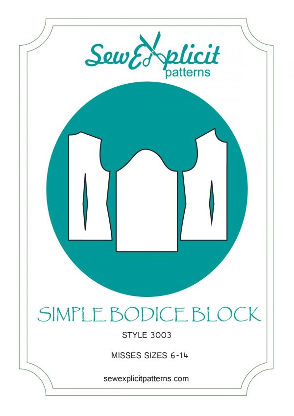 simple bodice block cover
