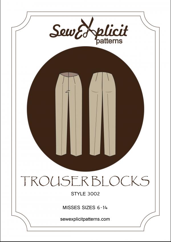 Misses trouser block